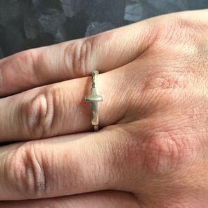 Silpada size 9 cross ring
